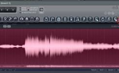 Hasil rekaman gitar di edison fl studio