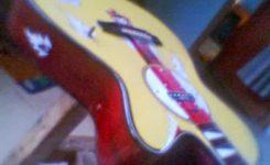 Langkah Cara Membuat Gitar Akustik Menjadi Gitar Elektrik jadi deh