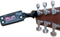 Tuner gitar akustik adalah alat untuk menstem gitar akustik