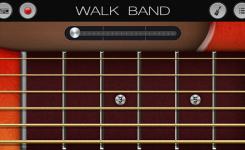 aplikasi android untuk membuat musik digital WALK BAND gitar akustik