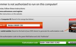 authorize input code