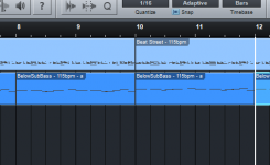 cara copy track instrument