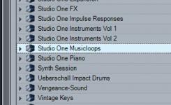 cara membuat music loop
