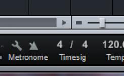 cara mengatur tempo lagu 120