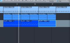 cara menggabungkan instrument mixdown