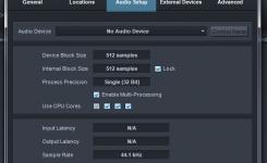 cara menggunakan presonus studio one audio setup