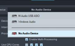 cara menggunakan presonus studio one pilih audio device
