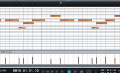 cara mengubah nada lagu di piano roll