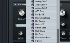 macam macam vst bass midi