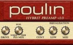 vst efek gitar gratis HyBrit Preamp